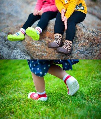 Attipas gör mjuka barnskor som andas Barnnet.se