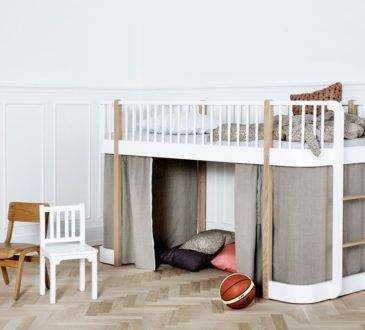 Fin våningssäng för barn