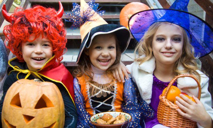 Halloween och barn