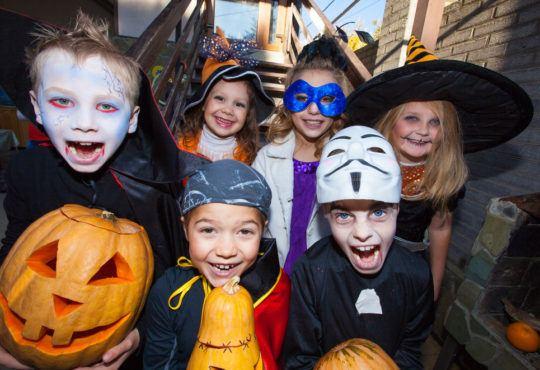 Halloween barn
